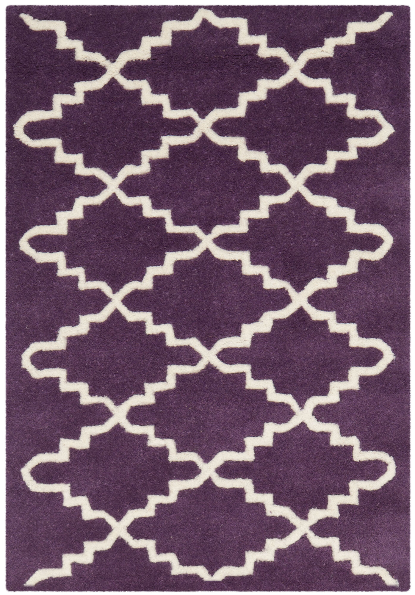 Safavieh Chatham Purple / Ivory Rug ...