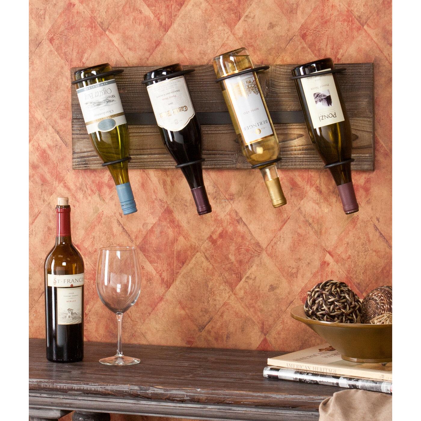 Decorative Wall Wine Glass Rack : Decorative wine racks for wall webnuggetz