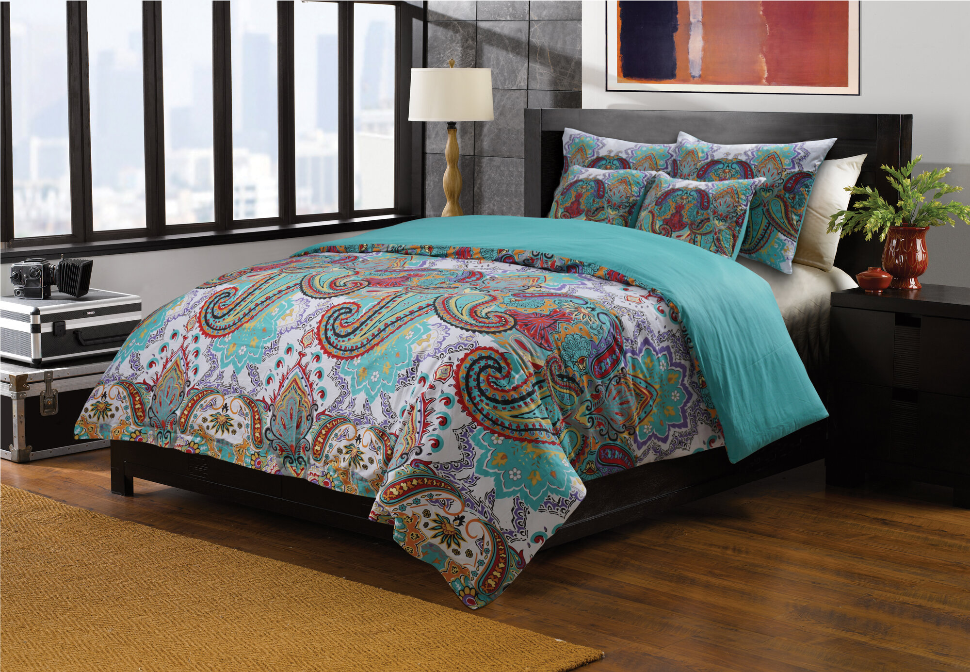 Greenland Home Fashions Nirvana Duvet Cover Set