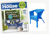 Bright Porch Style from the June 2013 Issue