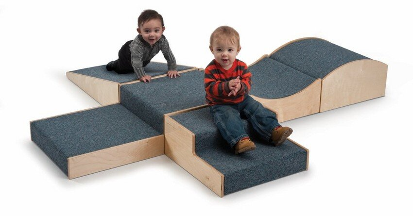 Modular Soft Play Furniture with Kids Whiteney Brothers