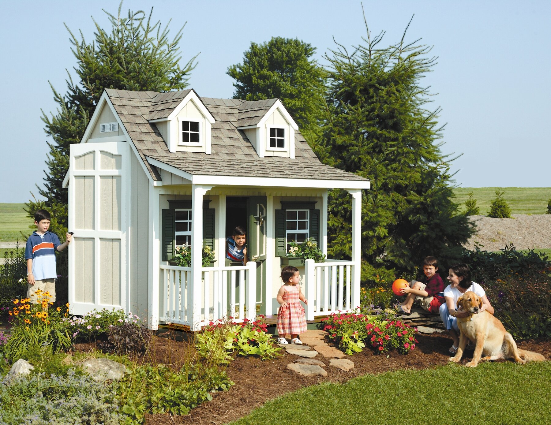 Backyard Cottage Playhouse