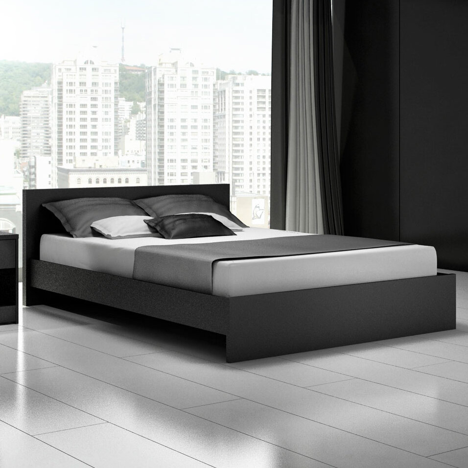 Euro Platform Bed By Stellar Home