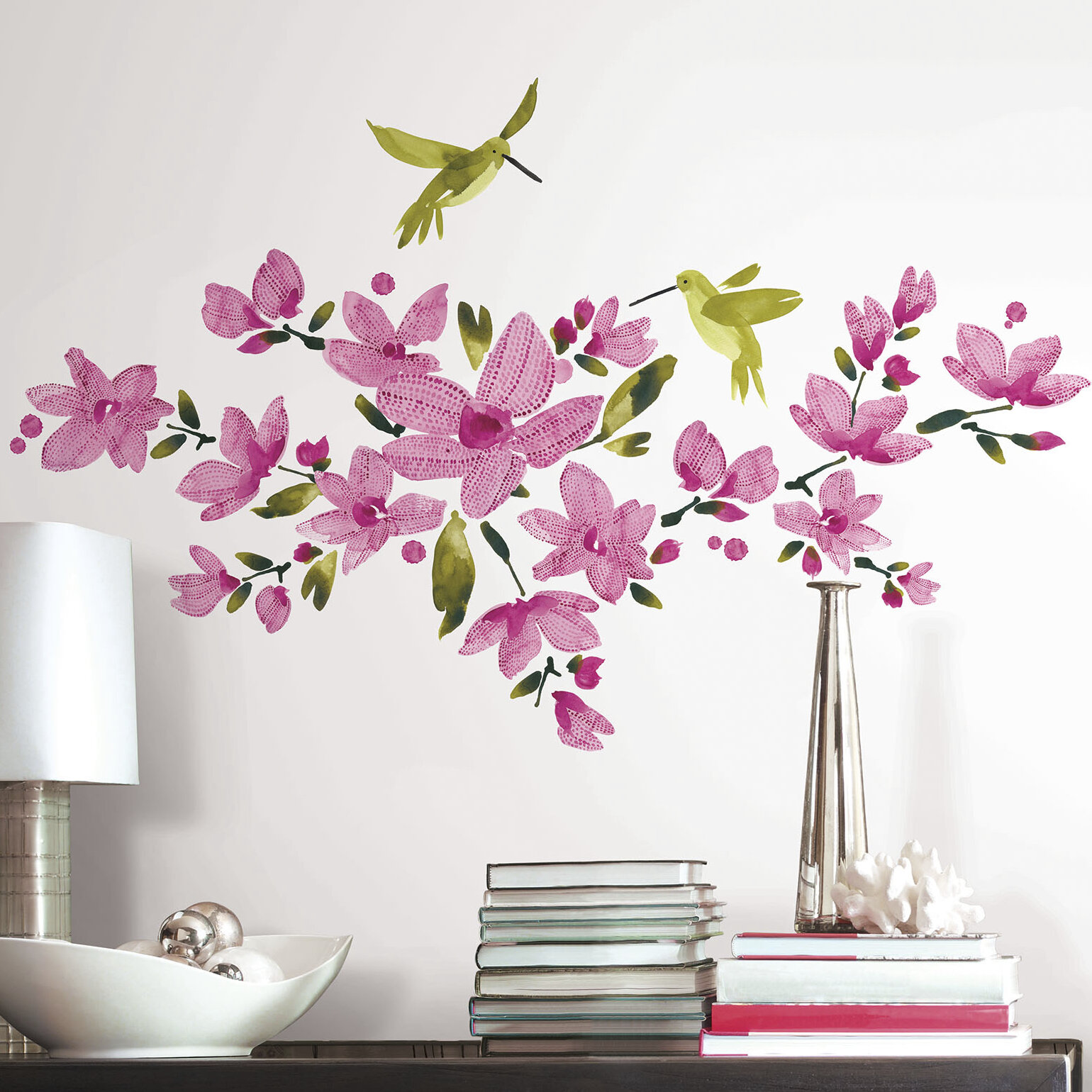 Lovely  Vine Wall Decal Set