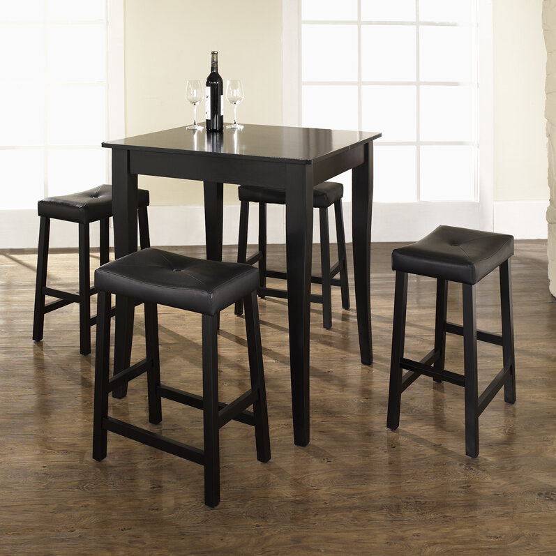No Credit Crosley 5 Piece Counter Height Dining Set