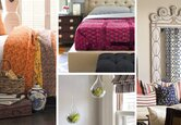Styling a Bohemian Bedroom