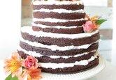 DIY Wedding Cake: Peekaboo Layer Wedding Cake