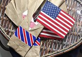 DIY Patriotic Utensil Holder