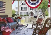 Outdoors: Classic Americana Porch