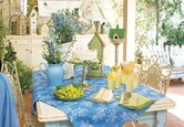 Outdoor: French Country Dining Room