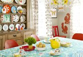 House Tour: A Colorful, Cheerful Home