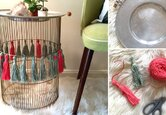 DIY Upcycled End Table