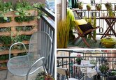 Decorate a Small Balcony