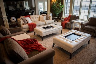 Contemporary Living Room photo by KN Interiors