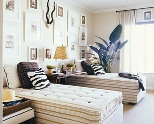 Contemporary Bedroom photo by Milieu Home Goods