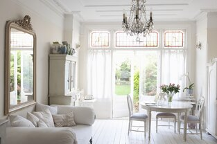 Cottage/Country Living Room photo by Milieu Home Goods