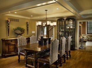 Rustic Dining Room photo by Joseph A Berkowitz Interiors