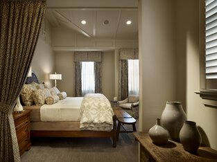Contemporary Bedroom photo by Joseph A Berkowitz Interiors