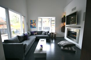 Contemporary Living Room photo by catlin stothers design