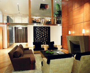 Contemporary Living Room photo by Benning Design