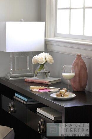Contemporary Bedroom photo by Frances Herrera Interior Design