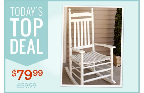 Solid-Wood Rocking Chair