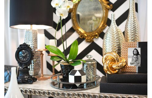 Make a Statement with Glam Decor