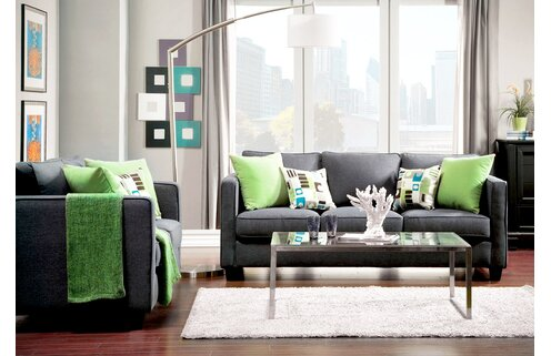 The Sleek & Chic Living Room