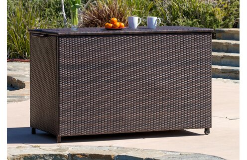 Stylish Poolside Storage