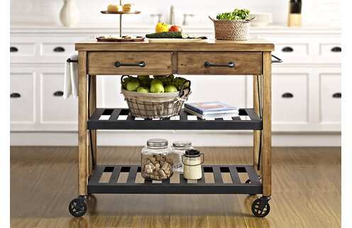 Antique-Inspired Kitchen Carts & More