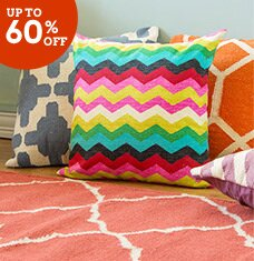 Pattern Pop: Pillows, Poufs & More