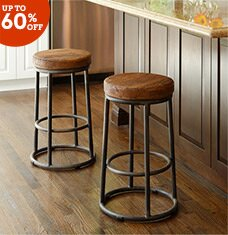 A Step Up: Barstools