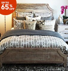 buy the rustic chic bedroom