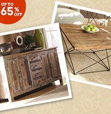 Look We Love: Rustic Furniture