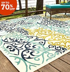 Gain Ground: Outdoor Rugs