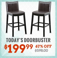 "30"" Upholstered Barstool - Set of 2"