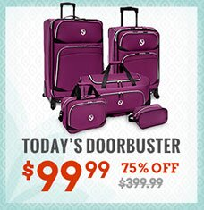 San Vincente 5-Piece Luggage Set