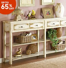 Cottage-Chic Accent Furniture