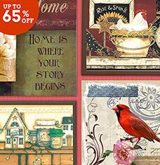 Cottage-Chic Wall Decor