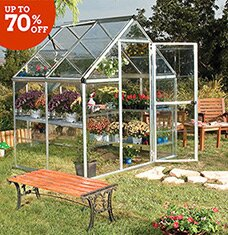 Garden Shop: Greenhouses & More