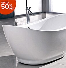Soak in Style: Tubs & Fixtures