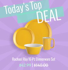 Rachael Ray 16-Pc Dinnerware Set