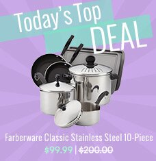 Farberware 10-Pc Cook & Strain Set