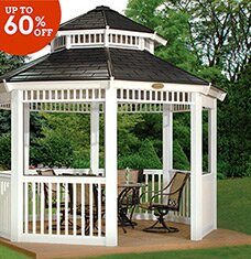 Gazebos & Garden Decor