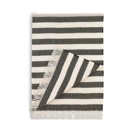 Draper Stripe Major Brown Throw