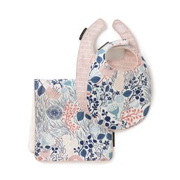 Meadow Bib & Burp Set
