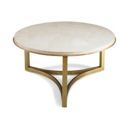 Milo Travertine Coffee Table