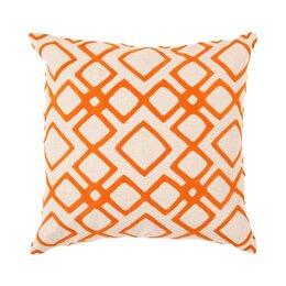 Kyoto Trellis Tangerine Pillow