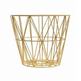 Kimono Citrine Wire Basket