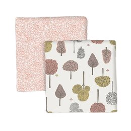 Treetops Swaddle Blanket (Set of 2)